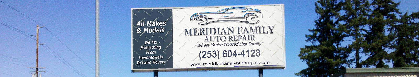 About Meridian Family Auto Repair, auto repair and service in Puyallup WA