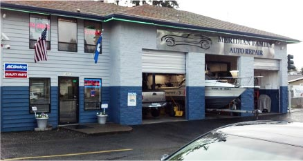 Meridian Family Auto Repair, auto repair and service in Puyallup WA