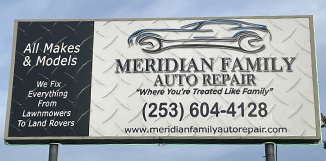 Reviews at Meridian Family Auto Repair, auto repair and service in Puyallup WA